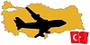 Vector clipart: fly me to Turkey