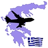 Vector clipart: fly me to Greece