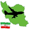Vector clipart: fly me to Iran