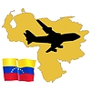 Vector clipart: fly me to Venezuela