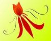 Vektor Cliparts: Blume Zusammensetzung