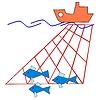 Vektor Cliparts: Symbol der Fischindustrie