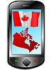 Vector clipart: Connection with Canada
