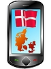 Vector clipart: Connection with Denmark