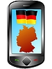 Vector clipart: Connection with Germany