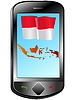 Vector clipart: Connection with Indonesia