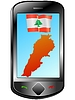 Vector clipart: Connection with Lebanon