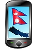 Vector clipart: Connection with Nepal