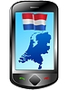 Vector clipart: Connection with Netherlands