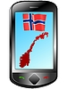 Vector clipart: Connection with Norway