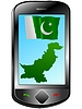 Vector clipart: Connection with Pakistan