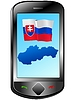 Vector clipart: Connection with Slovakia