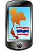 Vector clipart: Connection with Thailand