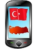 Vector clipart: Connection with Turkey