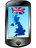 Vector clipart: Connection with United Kingdom