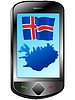Vector clipart: Connection with Iceland