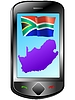 Vector clipart: Connection with South Africa
