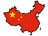 Vector clipart: Map in colors of China