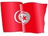 Векторный клипарт: развевающийся флаг Тунис