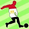 Векторный клипарт: футбол цветов Египет