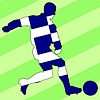Vector clipart: football colours of Greece