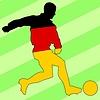 Векторный клипарт: футбол в Германии