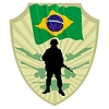 Vector clipart: Army of Brazil