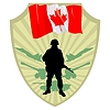 Vector clipart: Army of Canada