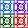 Векторный клипарт: классический цветочный дизайн