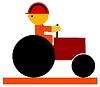 Vector clipart: asphalter