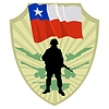 Vector clipart: Army of Chile