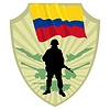 Vector clipart: Army of Colombia