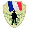 Vector clipart: Army of France