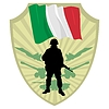 Vector clipart: Army of Italy