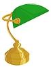 Vector clipart: Classical desk lamp