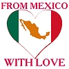 Vector clipart: from Mexico with love