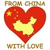 Vector clipart: from China with love