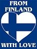 Векторный клипарт: из Финляндии с любовью