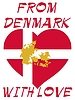 Vector clipart: from Denmark with love