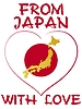 Vector clipart: from Japan with love