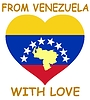 Vector clipart: from Venezuela with love