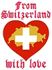 Vector clipart: from Switzerland with love