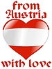 Vector clipart: from Austria with love