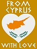 Vector clipart: from Cyprus with love