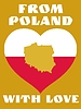 Vector clipart: from Poland with love