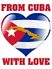 Vector clipart: from Cuba with love
