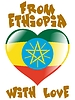 Vector clipart: from Ethiopia with love