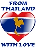 Vector clipart: from Thailand with love