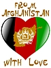 Vector clipart: from Afghanistan with love