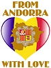 Vector clipart: from Andorra with love